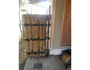 竹穂の松明垣