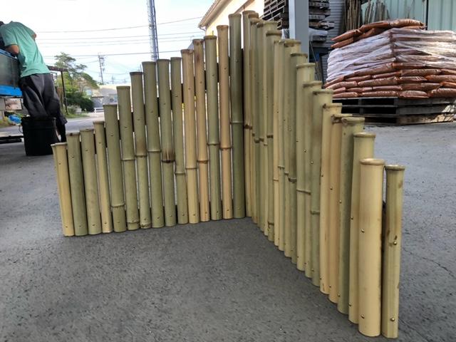 竹製(白竹)の衝立